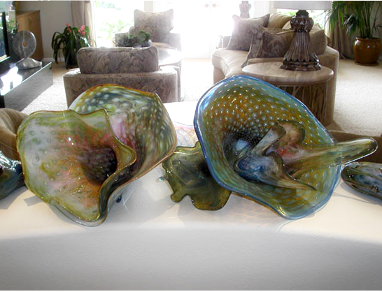 Fine Glass Sculptures