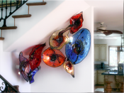 Blown Glass Wall Collections